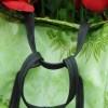 Tutorial: oilcloth & inner tube shopping pannier