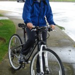 Riding in Seattle: Mom gets rained on