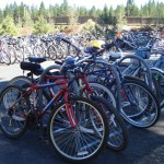 Vacationing: Sunriver Bike Parking