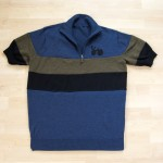 Mens merino wool cycling jersey