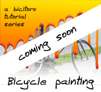 Bike painting tutorials soon | Bicitoro
