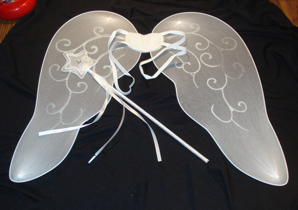 i - Halloween Costumes Angel Wings