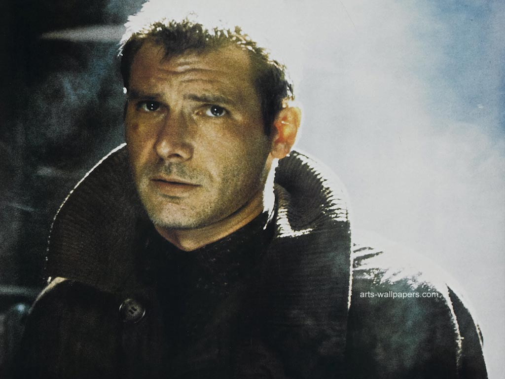Harrison Ford in Bladerunner