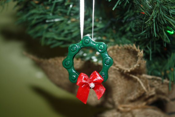 cute - Bicycle Christmas Ornament