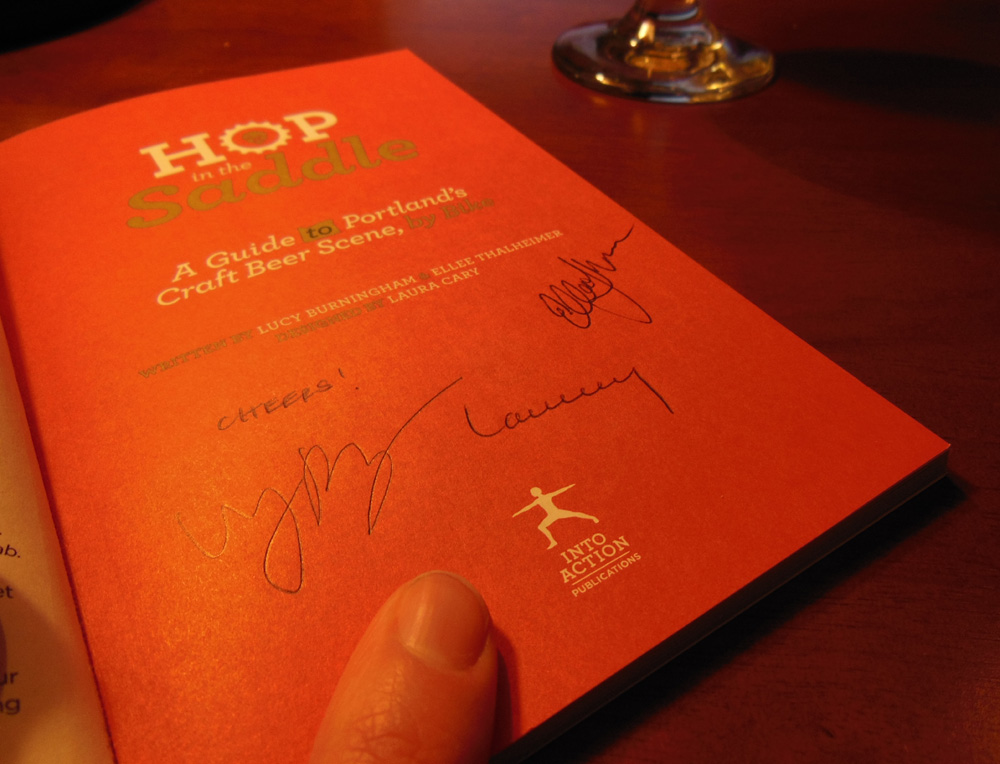 It's signed, just for you!