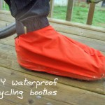 Guest Post: DIY waterproof cycling booties