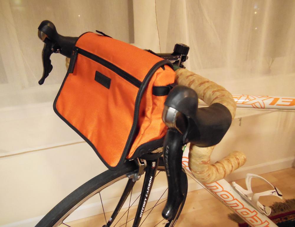 DIY handlebar bag - Bicitoro