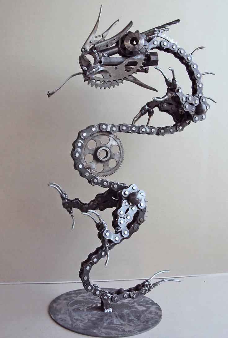 Four Incredible Artists Who Work With Reclaimed Bike Parts
