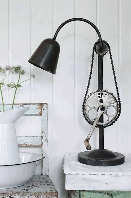 bike chain lamp
