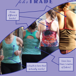 Sewing patterns for activewear