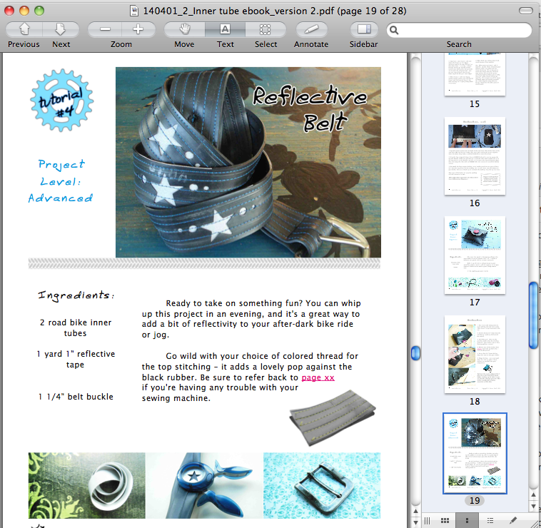 Inner tube crafts archives bicitoro bikes and crafts crafting with inner tubes preview 3 fandeluxe Ebook collections