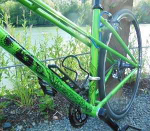 Sparkle Kraken closeup | Bicitoro Bikes and Crafts