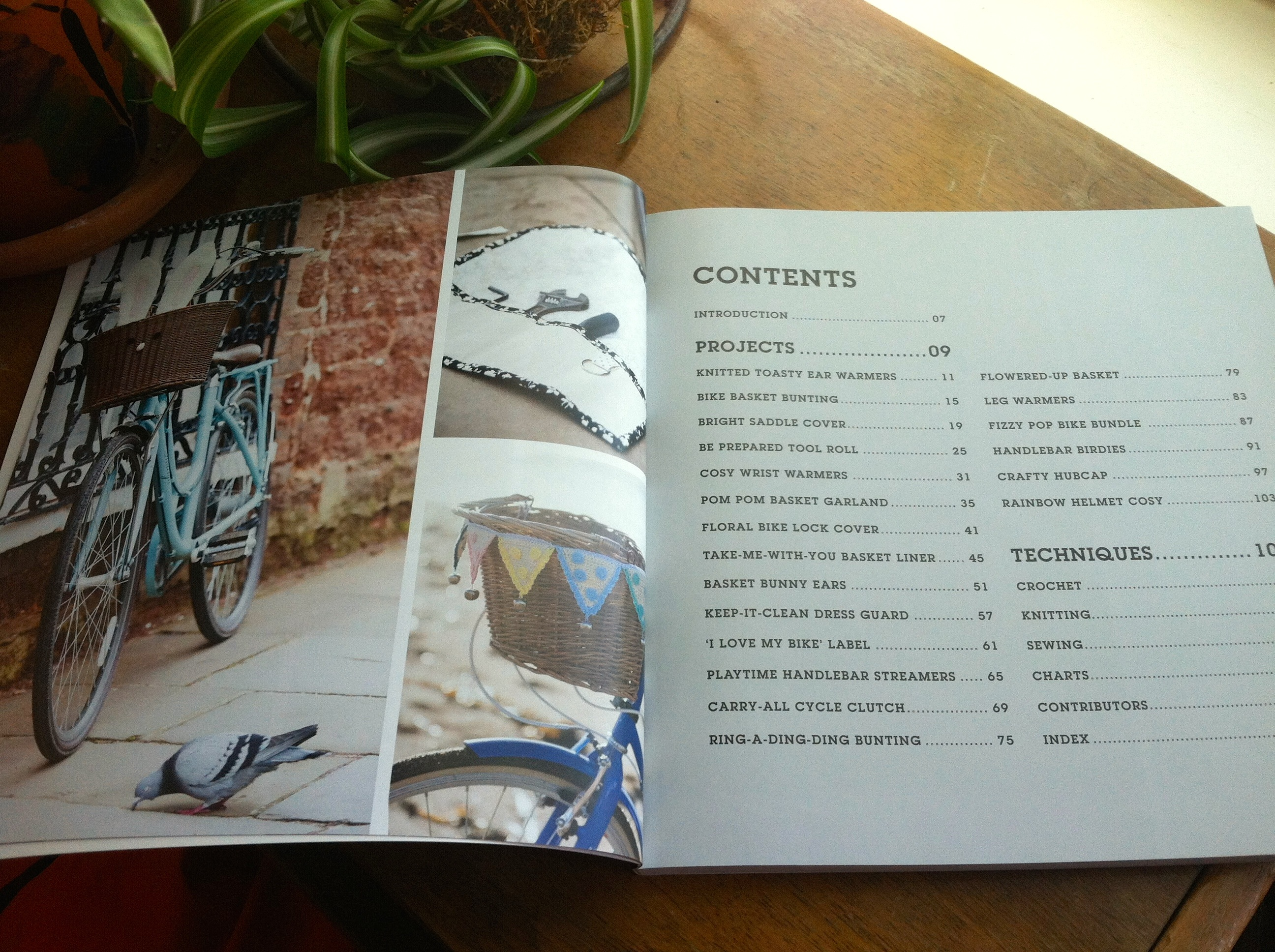 Craft bomb your bike - table of contents